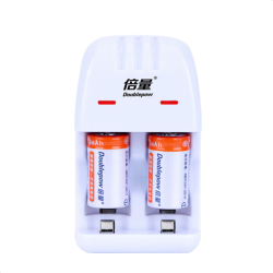 2PCS High quality 3V Cr2 rechargeable battery 200mAh lithium ion rechargeable battery + Cr2/CR123A universal smart charger