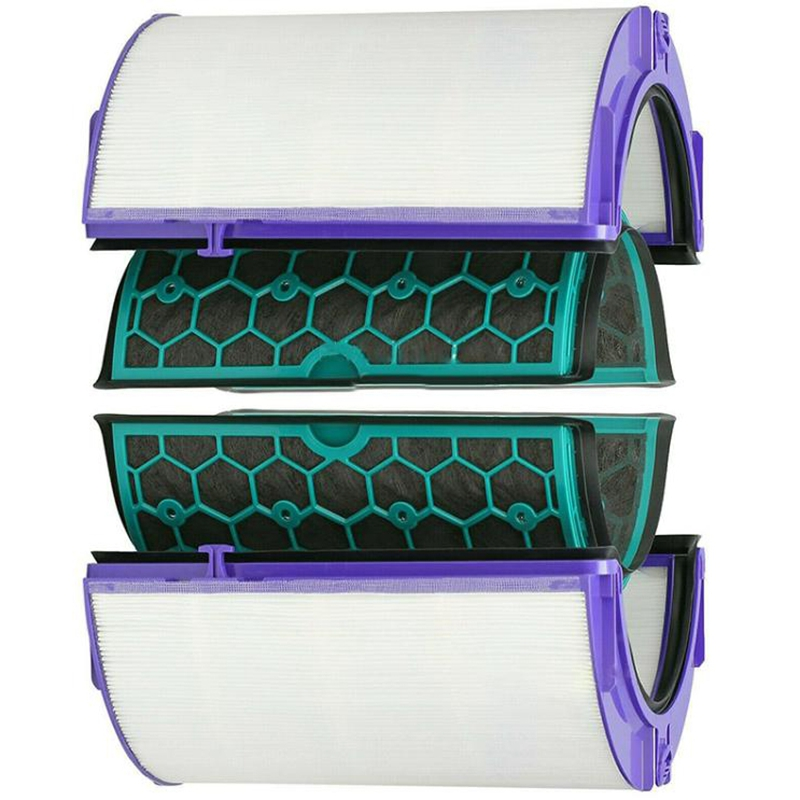 For Dyson Hp04 Tp04 Dp04 Sealed Two Stage Air Purifier Hepa & Carbon Filter Set|Air Purifier Parts| |  - title=