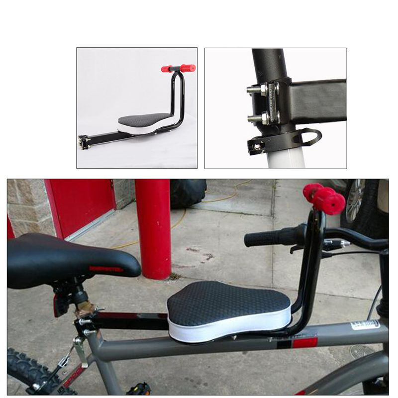 Купить с кэшбэком Detachable Child Bicycle Safe-T-Seat Children Bicycle Seats Bike Front Seat Chair Carrier Outdoor Sport Protect Seat