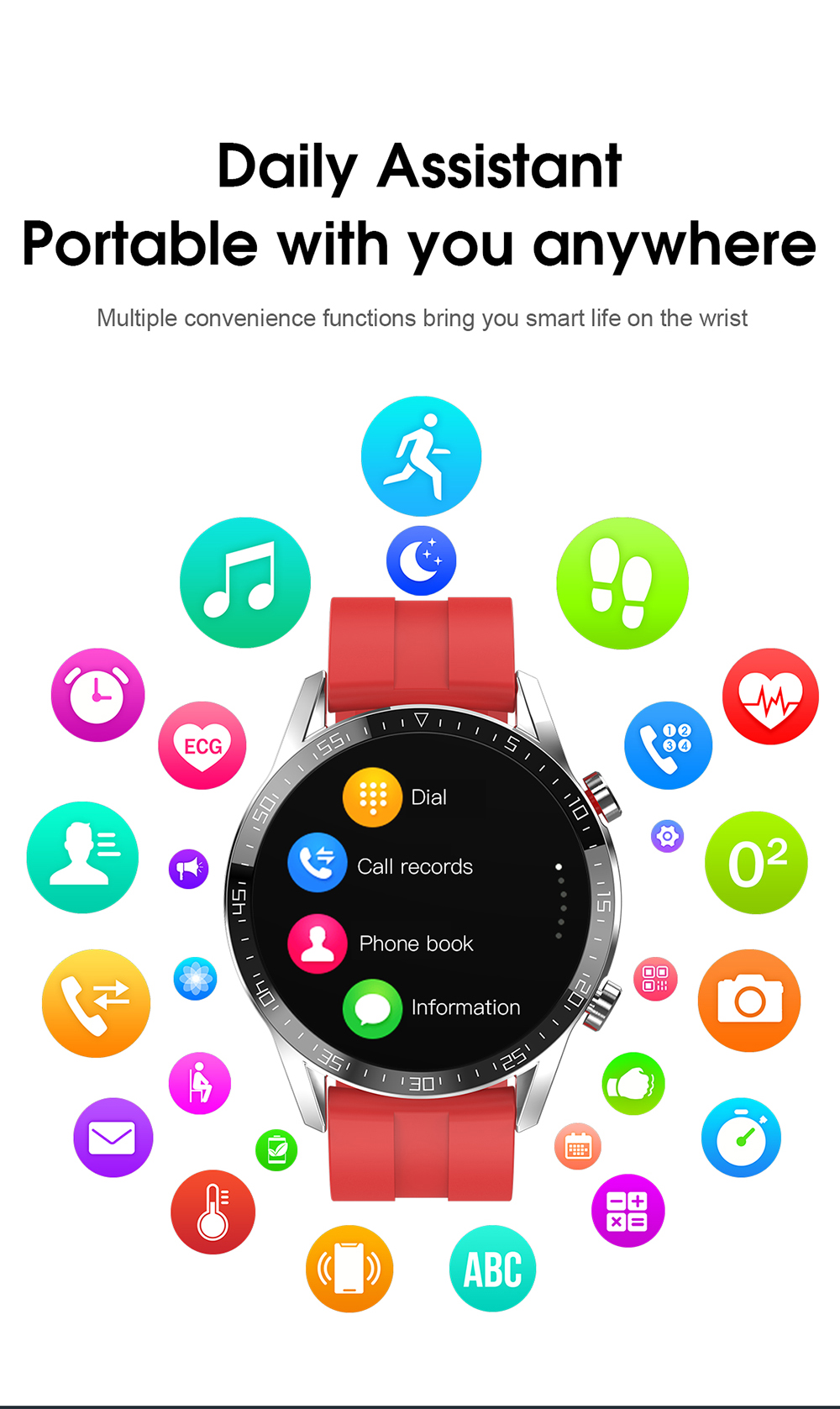 H51aeba20303c4f35a45e85c894e0ce743 Reloj Inteligente Hombre Smart Watch Men 2020 Android IP68 Smartwatch Answer Call Smart Watch Man For Huawei Android Apple Phone