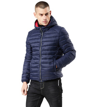 Jacket Winter Ultralight Hooded Solid Mens Cotton Down Lightweight Overcoat Casual Classic Coats Male Plus Size S-XXXL