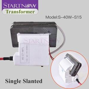 Image 3 - Yüksek gerilim Flyback trafo ateşleme bobini için 30W 40W 45W 50W CO2 lazer güç kaynağı gravür kesme makinesi parçaları