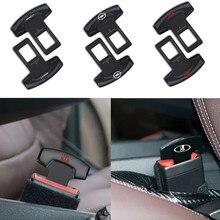1pcs Estilo Do Carro Fivela Do Cinto de segurança Cinto de Segurança Clipe Acessórios Para Audi TT J8 B8 A1 A3 A4 B5 B6 B7 A5 A6 Q5 C5 C6 C7 A7 A8 D3 D4