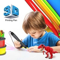 3D Pen SL 300A With USB Data Cable PLA/ABS/PCL 3 Models Filament 3D Printing Pen Birthday Gift For Children Explore Brains Tools