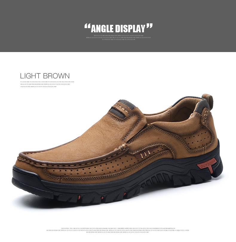 H51afafdbdd7b4a6f861e9535afad727ff 2019 New Men Shoes Genuine Leather Men Flats Loafers High Quality Outdoor Men Sneakers Male Casual Shoes Plus Size 48