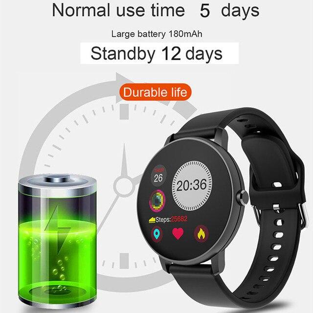 Smartwatches for Women & Men Full Touch Smart Watch Waterproof Heart Rate Monitor Sports smartwatch 3