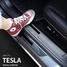 4Pcs Carbon Fiber Ca...
