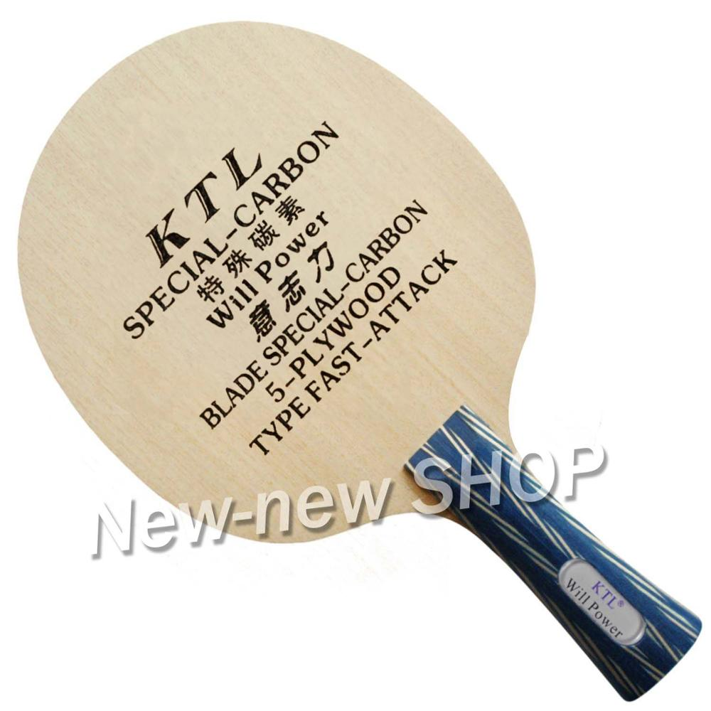 KTL Will Power Special Carbon Table Tennis Blade For Table Tennis Racket Pingpong Bat
