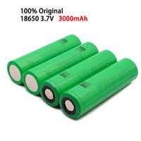 Pilas recargables de iones de litio para juguete Sony, 3,7 V, 3000 MAH, 18650 originales, para us18650 vtc6 20a 3000 mAh, 4 100%