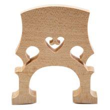 Профессиональный Виолончель мост для 1/2 размера Виолончель изысканный кленовый материал