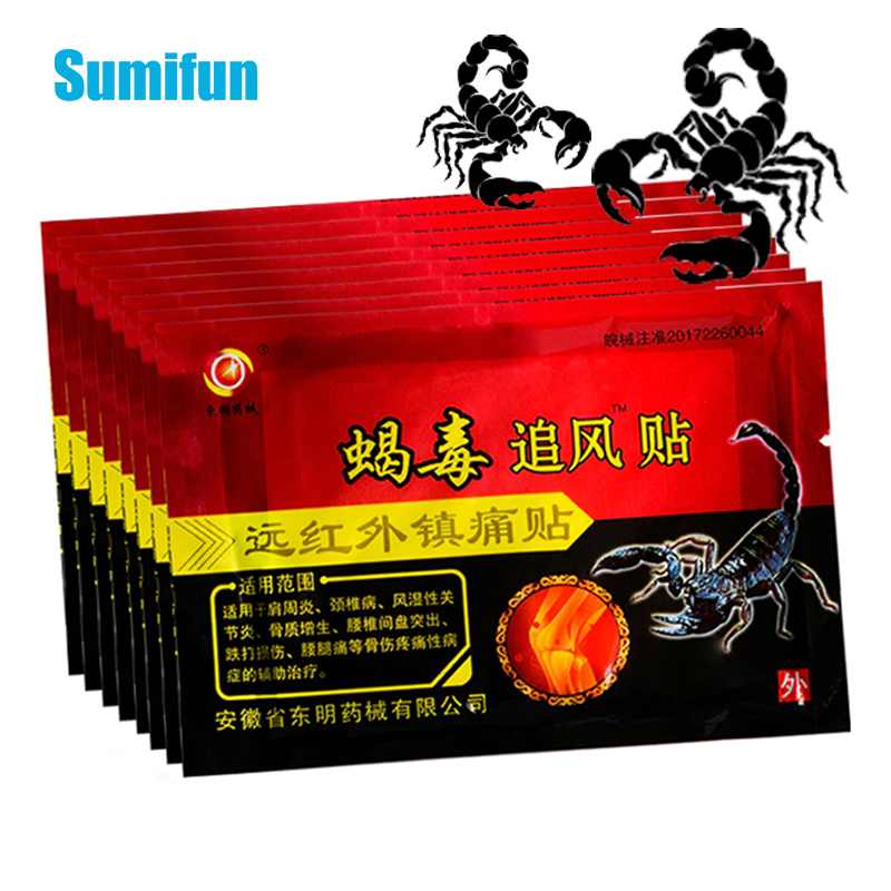 Medical Plaster Relief-Balm-Sticker Joint Pain-Patch Scorpion-Venom Back-Knee Rheumatism