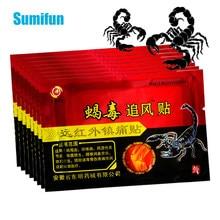 80 pces/10 ensaca o remendo médico da dor do emplastro do veneno do escorpião chinês para a joint voltar o joelho reumatismo artrite alívio da dor bálsamo adesivo