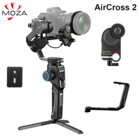 Moza AirCross 2 Kit 3 Axis Handheld Gimbal Stabilizer for Sony A7 A7II A6400 A9 Panasonic GH5 GH4 Canon DSLR Mirrorless Cameras