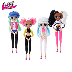 New Lol Surprise Dolls 4 Styles Dress Up Toys Girl Toys Birthday Gift Lol Doll Omg Surprise Doll DIY Educational Girl Toys(China)