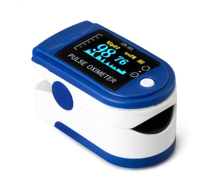 Portable Finger Oximeter Fingertip PulseOximeter Medical Equipment With OLED Display Heart Rate Spo2 PR Pulse Oximeter