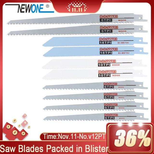 10 個鋸刃往復鋸刃手サーベル木材用のブレード金属往復見ツールアクセサリー
