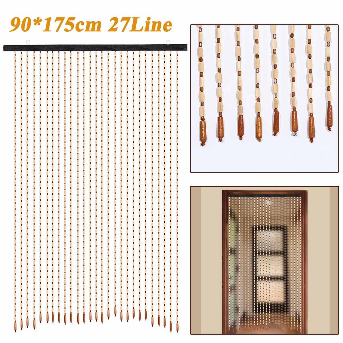 cortina fly tela artesanal feijão string blinds
