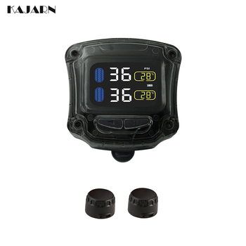 TPMS Motorcycle tire pressure sensor M3-B M0TO Racing bicycle LCD Display Wireless Tire Pressure Monitoring System tpms usb