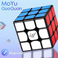 New MoYu GuoGuan YueXiao EDM 3x3x3 Magnetic Magic Speed Cube Professional YueXiao E Magnets Puzzle Cubes Educational Toys