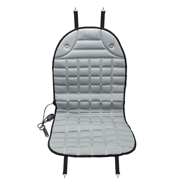 Cieplej podgrzewane siedzenie samochodu poduszka akcesoria wewnętrzne pokrowce na siedzenia samochodowe zasilanie zimowe elektryczny podgrzewany podgrzewacz