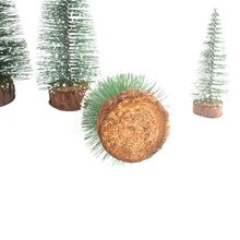 Christmas Trees Tabletop Trees Snow Ornaments For Christmas Party Home Decoration