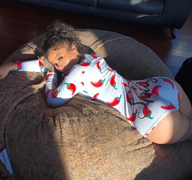 OMSJ Spring Autumn 2019 Hot Romper Women's Cotton Sleepwear Plus Size Long Sleeve Deep V-neck Party Playsuit Adult Onesie Pajama 3
