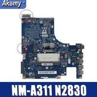 Совершенно новый aclu9/NM-aclu0 A311 материнская плата для ноутбука lenovo ноутбук с n2830 G50-30 cpu (тест Intel cpu 100%)