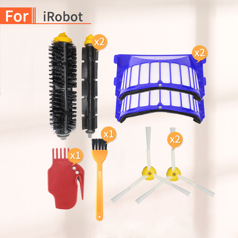 Robot Vacuum Cleaner Roller Brush Filter Accessories For Irobot Roomba Automatic Household Rechargeable Sweeper Irobot 600 Parts