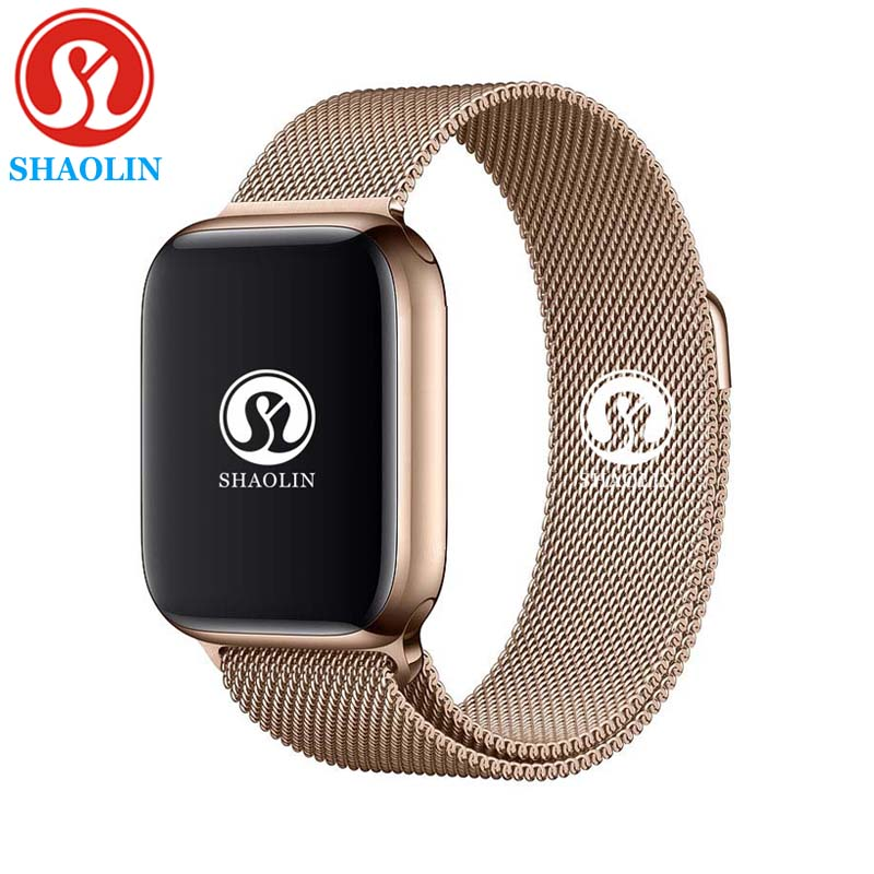 Sleep Tracker Smart Watch 42mm 1:1 Dial Call Smartwatch Series 4 For Apple Watch IOS IPhone 4 5 6 7 Android Samsung Phone Watch