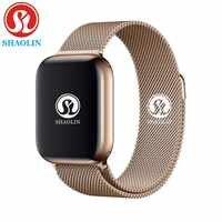 Schlaf Tracker Smart Uhr 42mm 1:1 Zifferblatt Call Smartwatch Serie 4 für Apple Uhr iOS iPhone 4 5 6 7 Android Samsung Telefon Uhr
