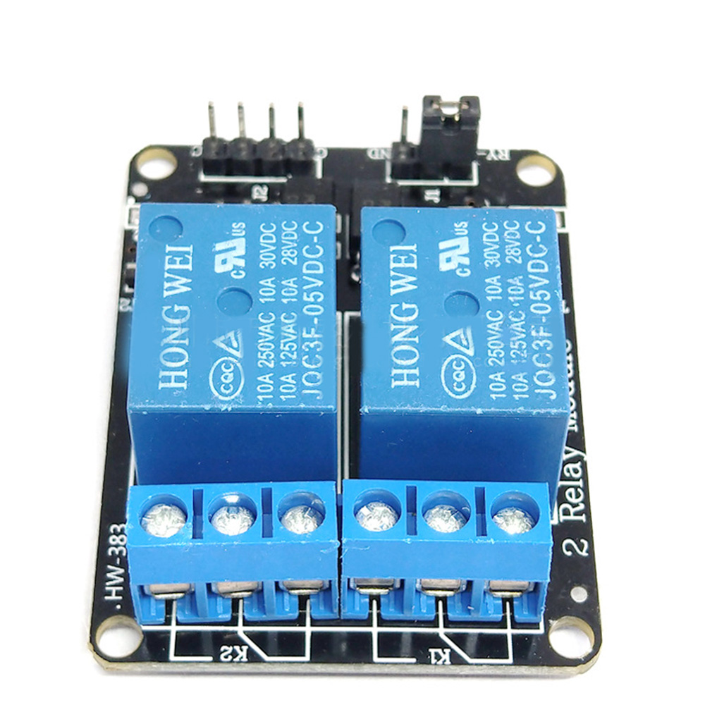 2-Channel 5V Relay Module Relay Optocoupler For Arduino Low Level 2-Way Relay Module Electrical Equipment