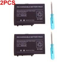 2x2000 мАч 37 v Перезаряжаемые литий ионный Батарея пакет Для