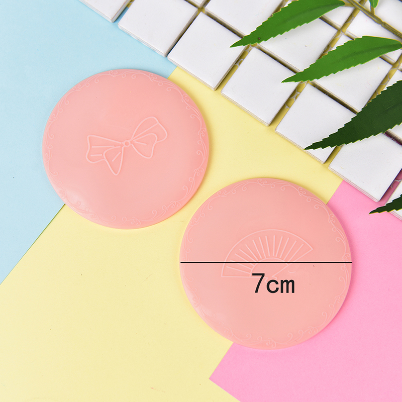 Купить с кэшбэком Mini Cute Mirror Lovely Portable Makeup Mirror Small Pocket Travel One Sided