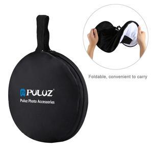 Image 3 - PULUZ 45cm Round Softbox Macro & Portrait Shooting Speedlight Soft Box Foldable Soft Flash Light Diffuser for Photo Studio