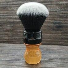 Dscosmetic 26 мм смокинг, синтетические волосы, узлы, цитрин, ручка, кисть для бритья
