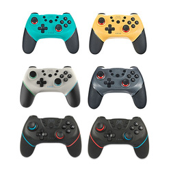 Wireless Bluetooth Gamepad For Nintendo Switch Game Controller 6 Axis Gyro Dual Motor Vibration Wireless Joystick Handle Control