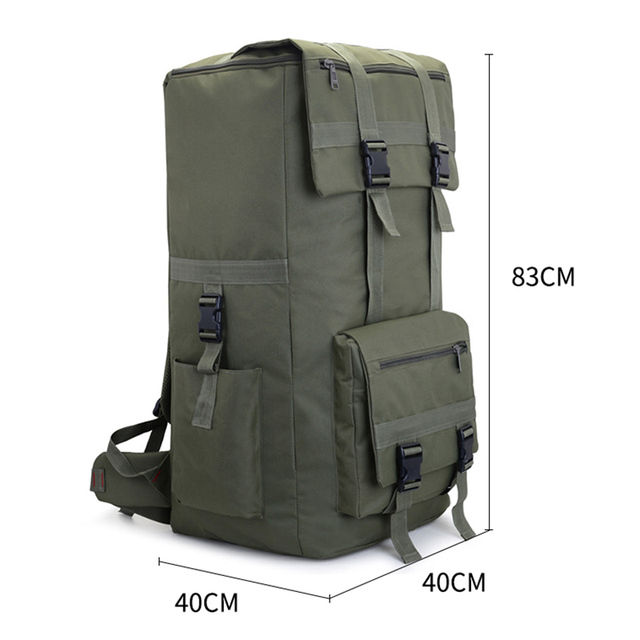110L large Men Hiking Rucksack Camping Backpack Army Bag Outdoor Climbing Trekking Mountaineering Mochila Blaso Sport XA860WA 6