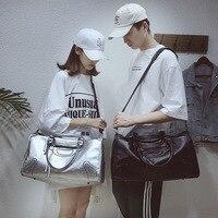 New Hot Large capacity PU Travel Bag Couple Travel Bag Sports Training Fitness Bag Short distance Multi function Travel Bag