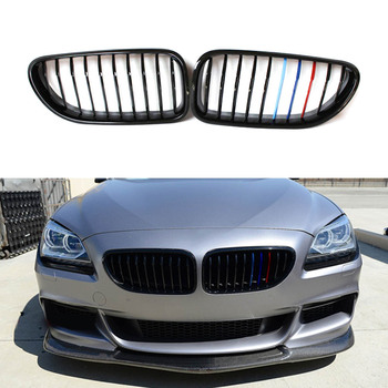 Front Hood Bumper Kidney Grilles Grill For BMW 6-SERIES M6 F06 F12 F13 650i 640i 2012-2017 Gran Coupe F06