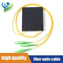 Fiber Optic PLC1X2 Fiber Splitter Cable Length1.5M SC/APC SingleMode ABS BOX