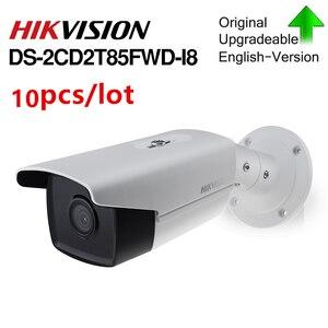 Image 2 - の Hikvision オリジナル弾丸 IP カメラ DS 2CD2T85FWD I8 8mp ネットワーク有線 PoE 80 メートル ir 固定セキュリティカメラ内蔵 sd カードスロット