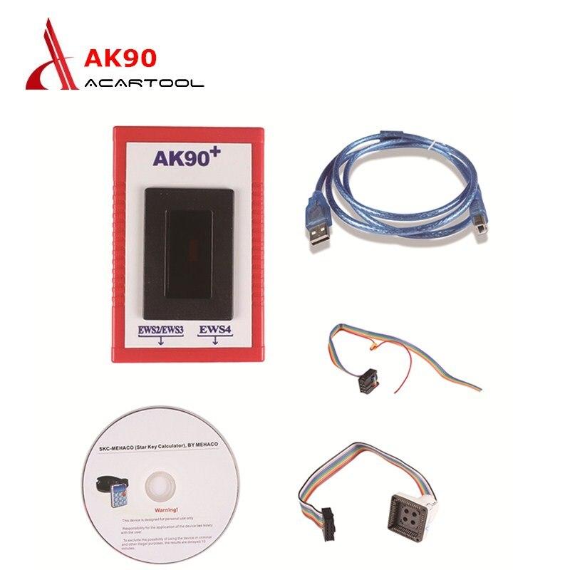 For BMW AK90 V3.19 For EWS2/EWS3/EWS4 OBD2 Car AK90 Key Programmer For BMW From 1995-2009 Key-maker/Copy Auto Key Programmers