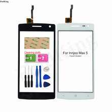 5'' Mobile Touch Screen TouchScreen For InnJoo Max 5 Touch Screen Digitizer Touch Panel Sensor Front Glass Tools Adhesive