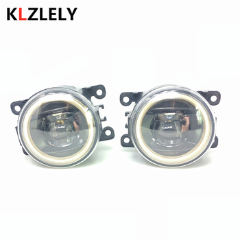 For Citroen C3 C4 C5 C6 C-Crosser Xsara Picasso LED Fog Lights 20W 900LM New Angel eye Fog Lights white 2pcs