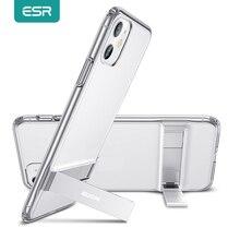 ESR Kim Loại Chân Đế Dành Cho iPhone 11 Pro Max SE 2020 8 7 Chân Đứng Mềm Mại Ốp Lưng TPU Da Ốp Lưng cho iPhone 11 XS Max XR