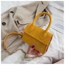 High Circle Handle Flap Stone Stripes PU Leather Shoulder Bag Street Fashion Clutch Mochila