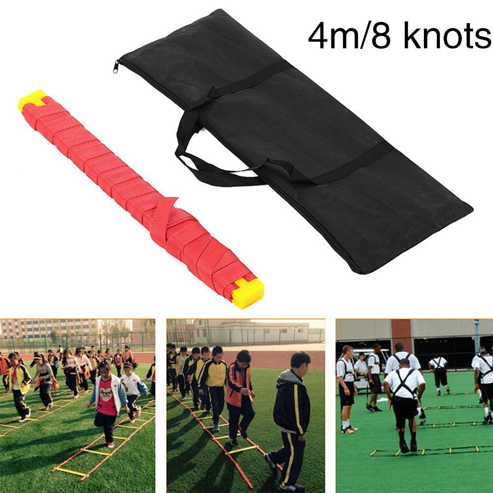 Speed Plastic Oxford Cloth Ladder Training Training Fitness Sport Soccer Jumping Ladder Equipment Agility
