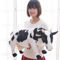 Giant Big Hung 70cm Likelife Milk Cow Toys Doll Plush Soft Stuffed Animal Gifts Cotton Birthday Gift Rewards Cute