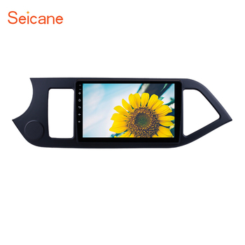 Seicane GPS Radio for 2011-2014 KIA PICANTO Android 8.1 Morning HD 1024*600 Touch Screen Bluetooth Navigation system Mirror link