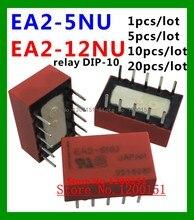 EA2-5NU EA2-5 EA2-12NU EA2-12 Em Vez de TQ2-5V ATQ209 A5W-K relé DIP-10